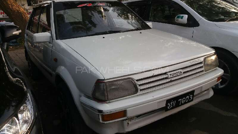 Toyota Starlet 1.0 1989 Image-1