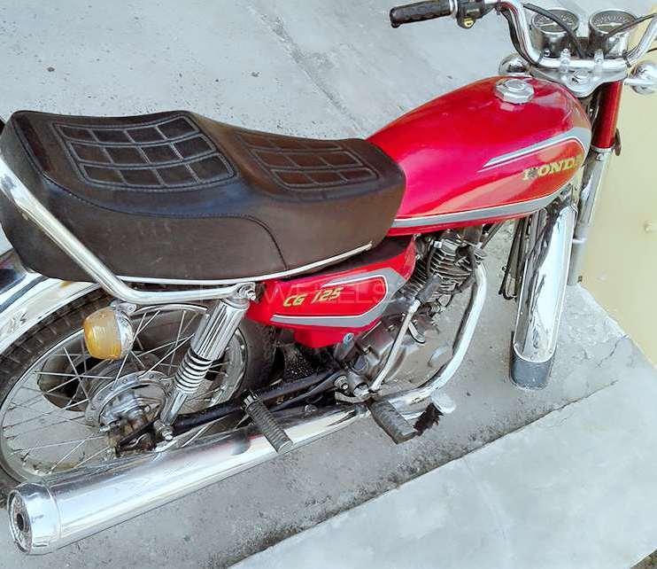 Honda CG 125 1989 Image-1