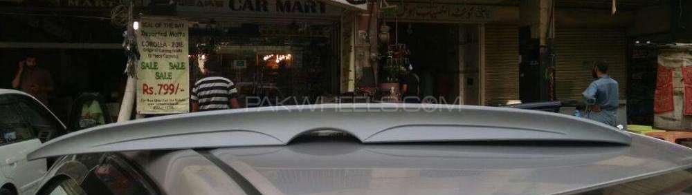 Toyota Corolla Spoiler Without Light Image-1