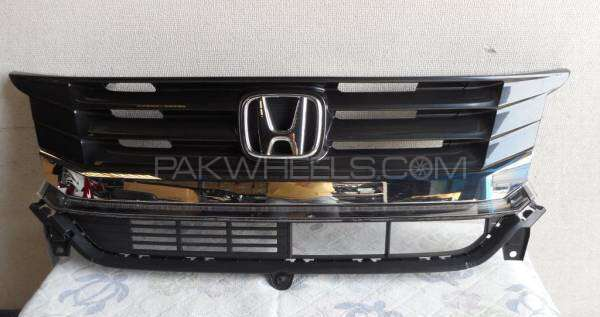 Honda N Wagon Custom front complete grill Image-1