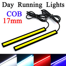 2Pcs 17CM LED COB DRL Daytime Running Lights Waterproof DC12V  in Lahore