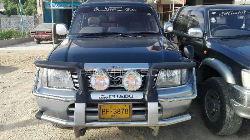 Toyota Prado RZ 3.0D (3-Door) 1998 Image-1