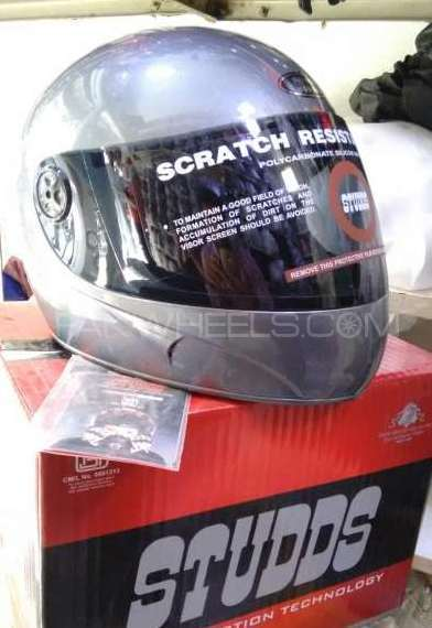 Original Indian studds Helmet Image-1