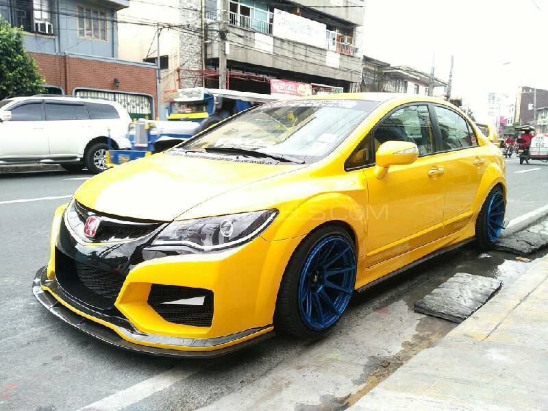 body kit for honda civic reborn (wide body) Image-1