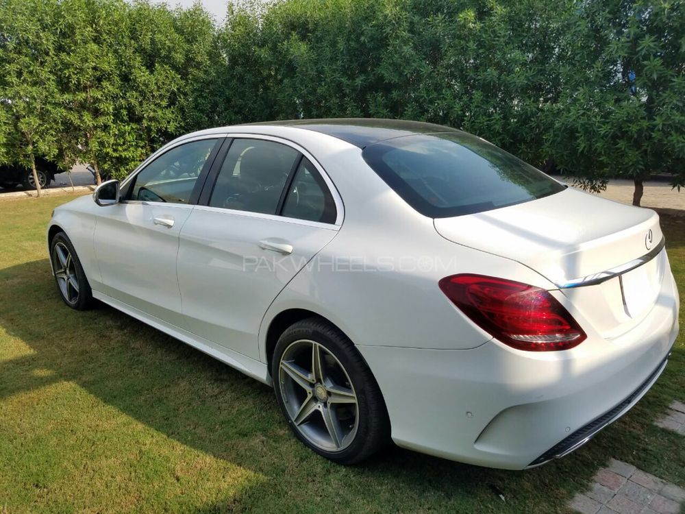 Mercedes benz c class c180 amg 2015 for sale in lahore for C180 mercedes benz