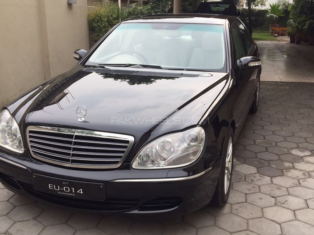 mercedes benz s class s350 2004 for sale in islamabad pakwheels. Black Bedroom Furniture Sets. Home Design Ideas