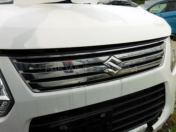 Suzuki Wagon-R front Chrome Grill Image-1