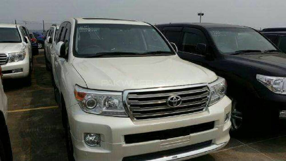 Toyota Land Cruiser AX G 60th Black Leather Selection 2013 Image-1