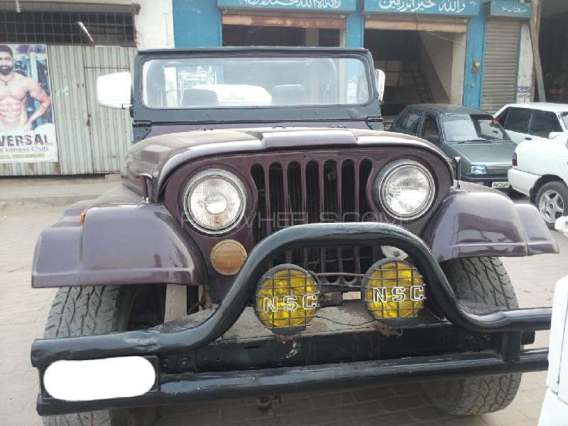 Jeep CJ 5 2.5 1980 Image-1