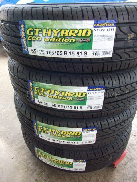 4tyres 195/65/R15 Goodyear Eco japani Manufacture 2016 Image-1