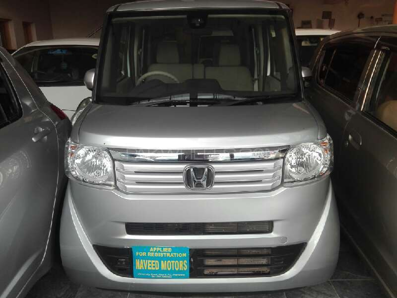 Honda N Box Plus G 2013 Image-1