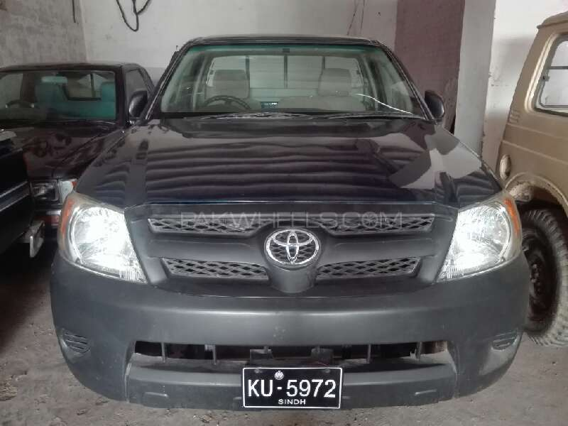 Toyota Hilux 4x4 Single Cab Standard 3.0 2006 Image-1