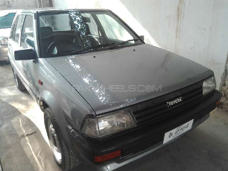Toyota Starlet 1.0 1987 Image-1