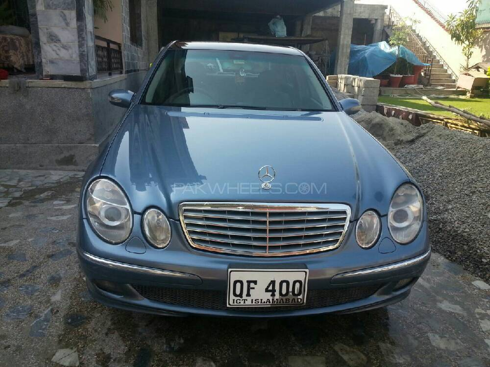 Mercedes benz e class e240 2002 for sale in abottabad for 2002 mercedes benz e320