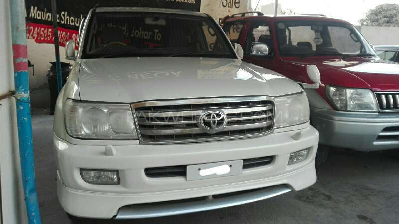 Toyota Land Cruiser VX Limited 4.2D 1999 Image-1