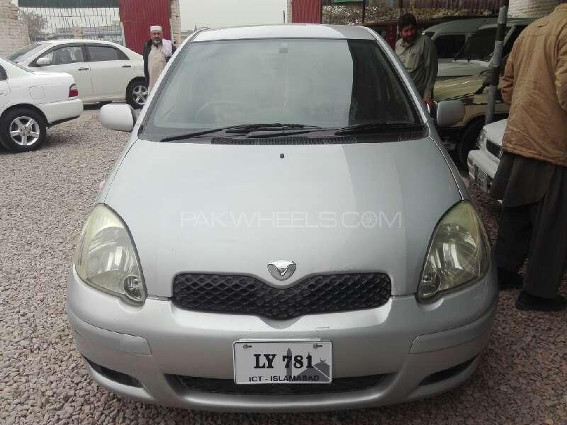 Toyota Vitz F 1.0 2004 Image-1