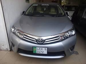 Toyota Corolla GLi 1.3 VVTi 2014 for Sale in Multan