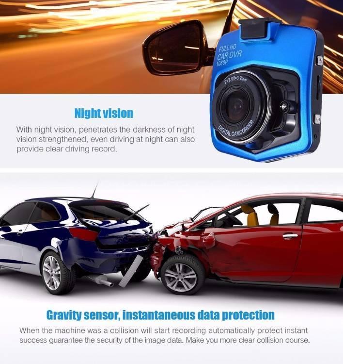 """""""ORIGINAL GT300"""" FHD 1080 p Car DVR Cam Video Record G-sensor Camera Image-1"""