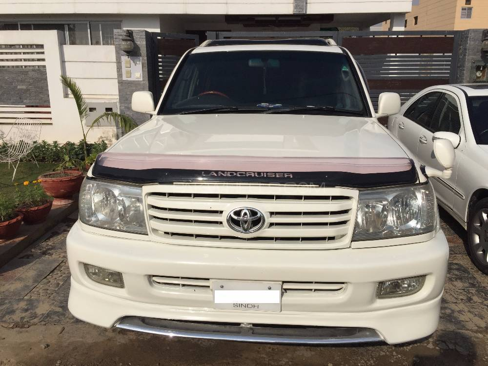 toyota land cruiser vx 4 2d 1998 for sale in lahore. Black Bedroom Furniture Sets. Home Design Ideas