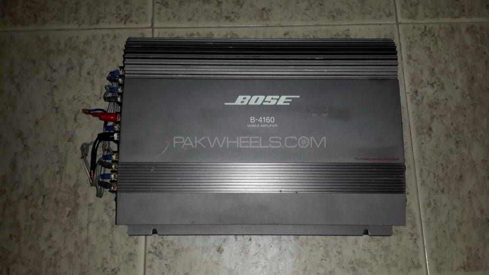 Bose 4 Channel Lifier For Sale In Peshawar Parts Rhpakwheels: Bose Car Audio Amplifier At Taesk.com
