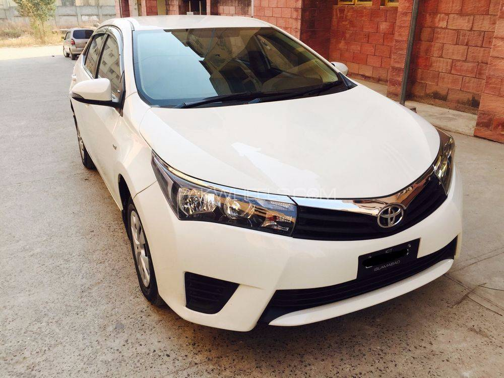toyota corolla xli vvti 2014 for sale in islamabad pakwheels. Black Bedroom Furniture Sets. Home Design Ideas