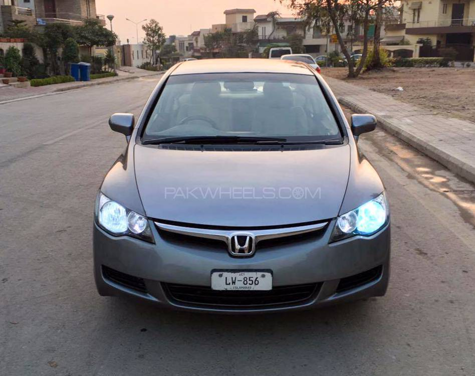 honda civic vti 1 8 i vtec 2007 for sale in islamabad. Black Bedroom Furniture Sets. Home Design Ideas