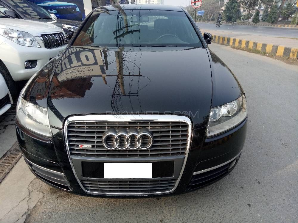 audi a6 3 0 tfsi quattro 2003 for sale in lahore pakwheels. Black Bedroom Furniture Sets. Home Design Ideas