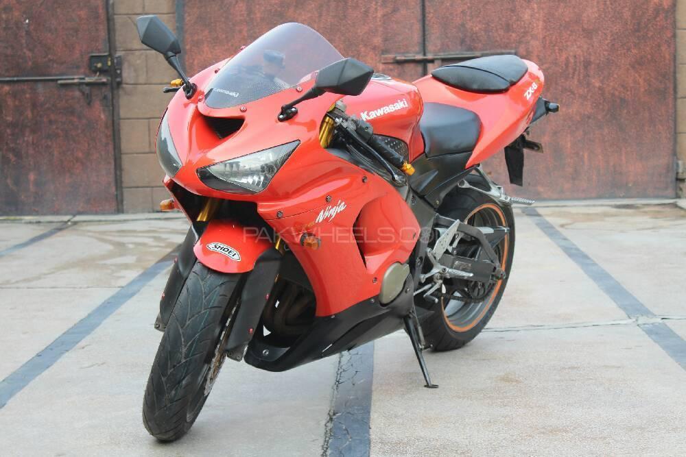 Kawasaki Ninja ZX 6R Monster Energy 2006