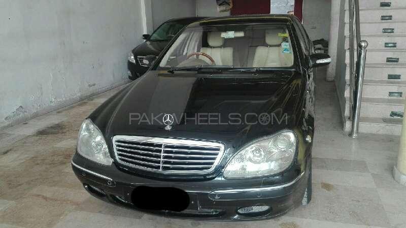 Mercedes Benz S Class S 320 2001 Image-1