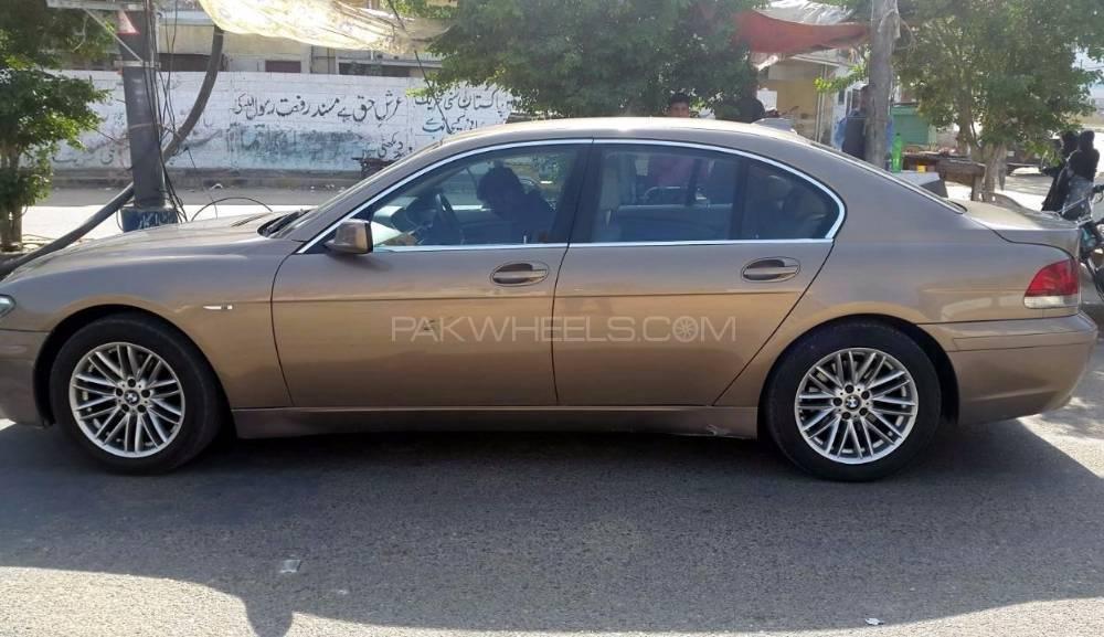 bmw 7 series 730d 2004 for sale in karachi pakwheels. Black Bedroom Furniture Sets. Home Design Ideas
