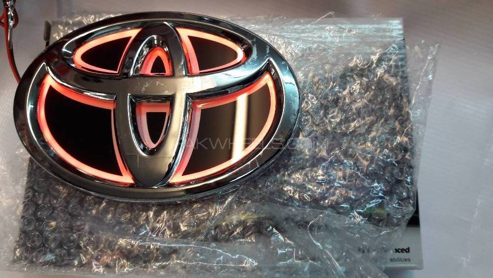 Toyota 4D Logo  in Lahore