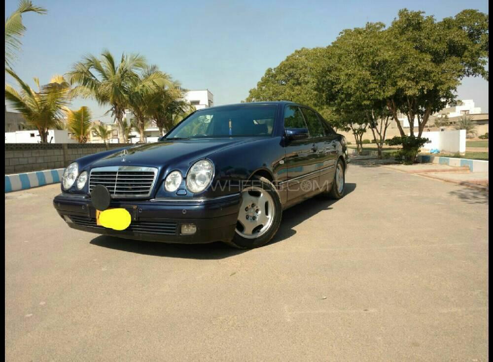 Mercedes benz e class e230 1997 for sale in karachi for Mercedes benz e320 1997