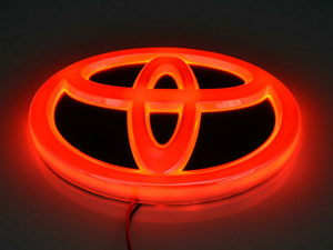 Toyota 5D Logo  in Lahore