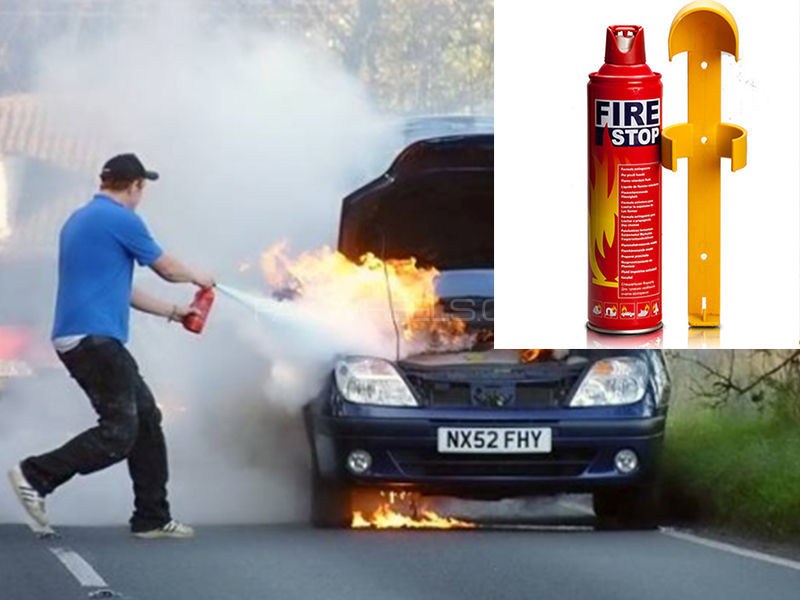 Car Fire Stop Can Fire Extinguisher in Lahore