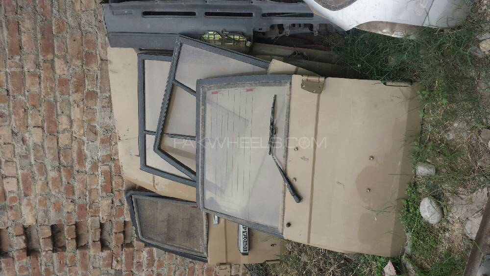 Toyot land cruiser prado bonut front and back doors frm for Exterior back doors for sale