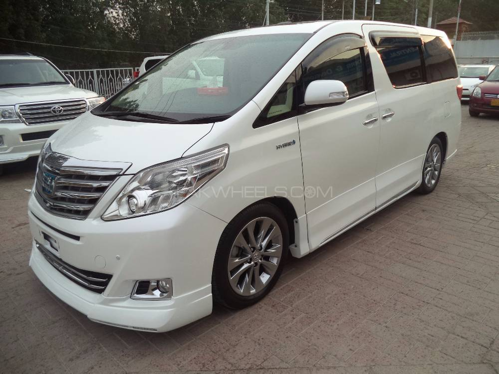 Toyota Alphard Hybrid G L Package 2012 For Sale In Karachi