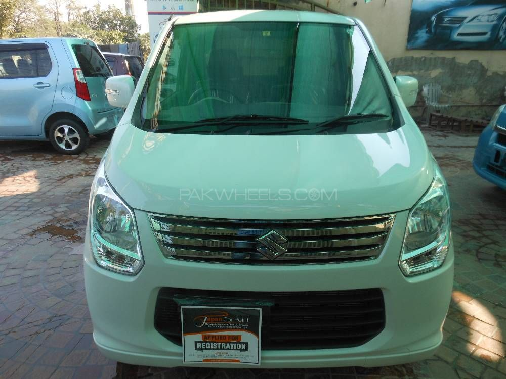 suzuki wagon r fx limited 2013 for sale in lahore pakwheels. Black Bedroom Furniture Sets. Home Design Ideas