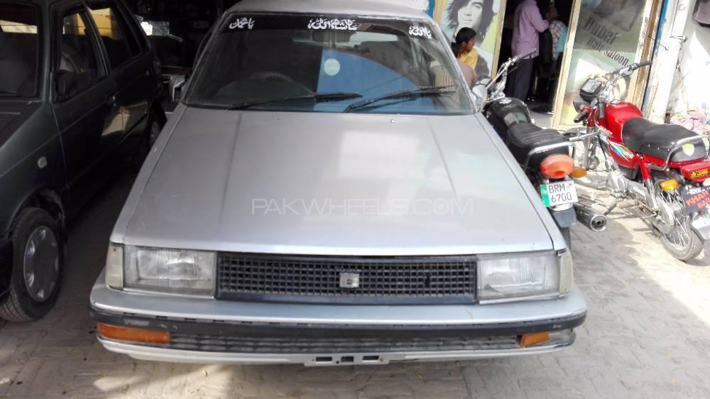 Toyota 86 G 1986 Image-1