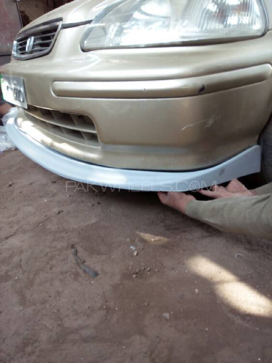 Honda Civic 1996 Front Bumper Lip For Sell Image-1
