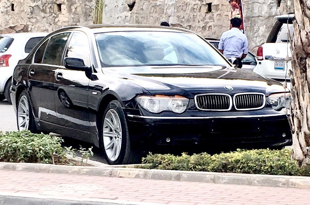 BMW 7 Series 745Li 2005 Image-1