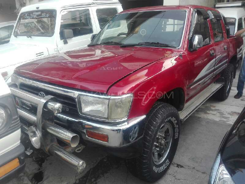 Awesome Toyota Hilux Double Cab 1993