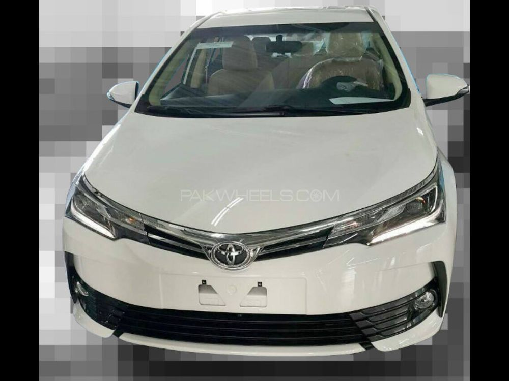 Buy Toyota Corolla 2017 Faceuplift Parts In Lahore Pakwheels