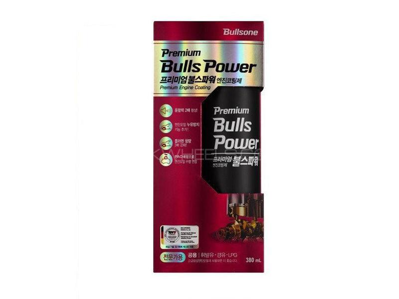 BullsPower Premium Engine Coating Treatment For Gasoline/Engine/LPG Engine - 380ml Image-1