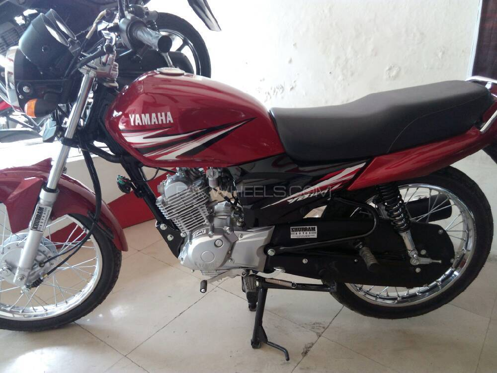 Used Yamaha Ybr 125 Z 2017 Bike For Sale In Lahore