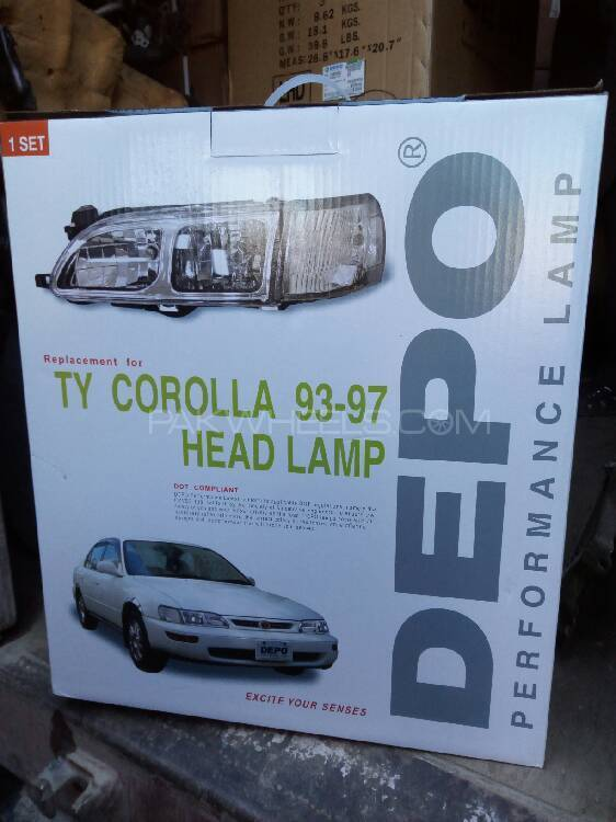 Toyota Corolla 1994 Projection Headlights For Sale Image-1