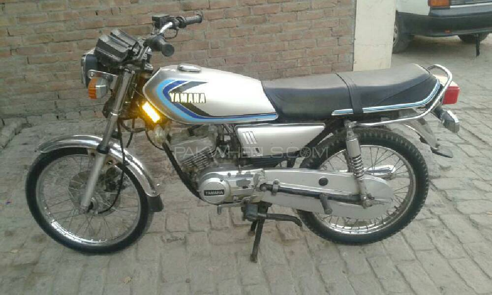 Used yamaha rx 115 1985 bike for sale in karachi 184582 for Yamaha rx115 motorcycle for sale