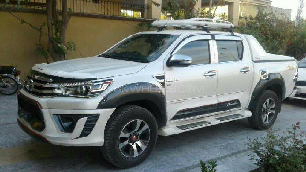 toyota hilux 2015 for sale in rawalpindi | pakwheels IB16