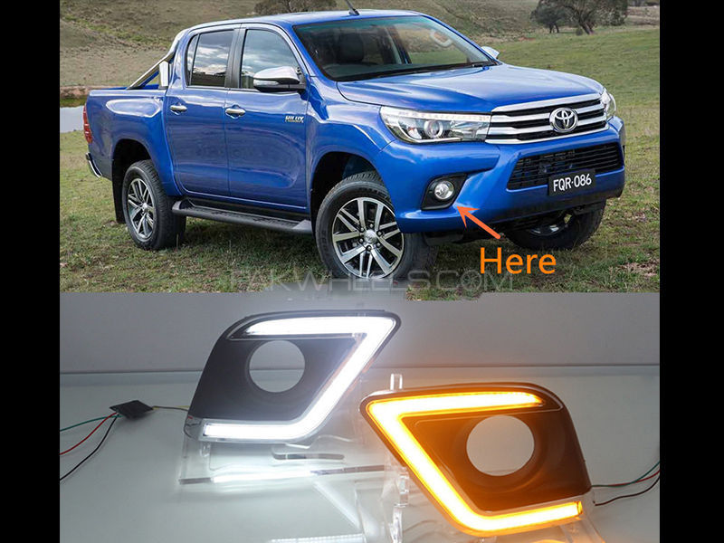 Revo Daytime Running LED Fog Lamp Covers in Lahore