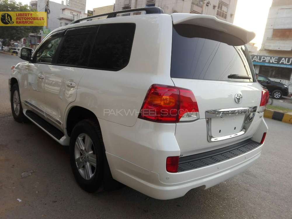 Used Toyota Land Cruiser for Sale at Liberty Automobiles Karachi ...