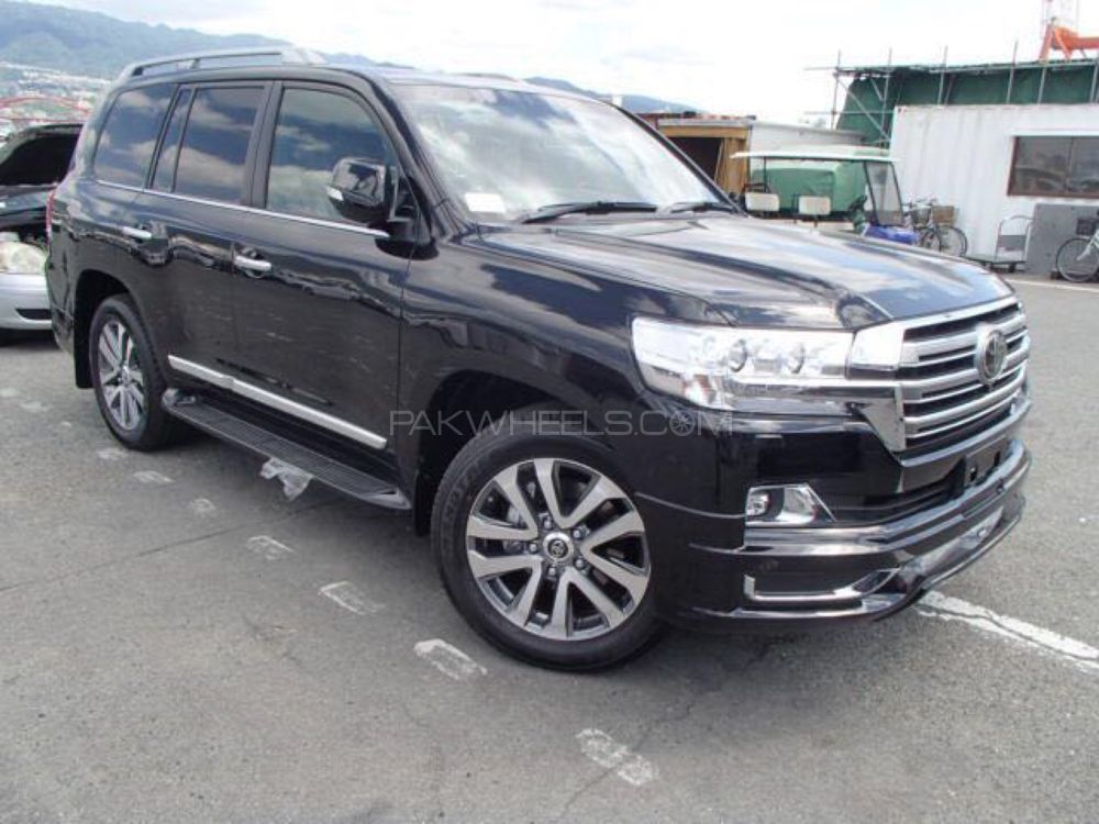 Toyota Land Cruiser Zx 2017 For Sale In Lahore Pakwheels
